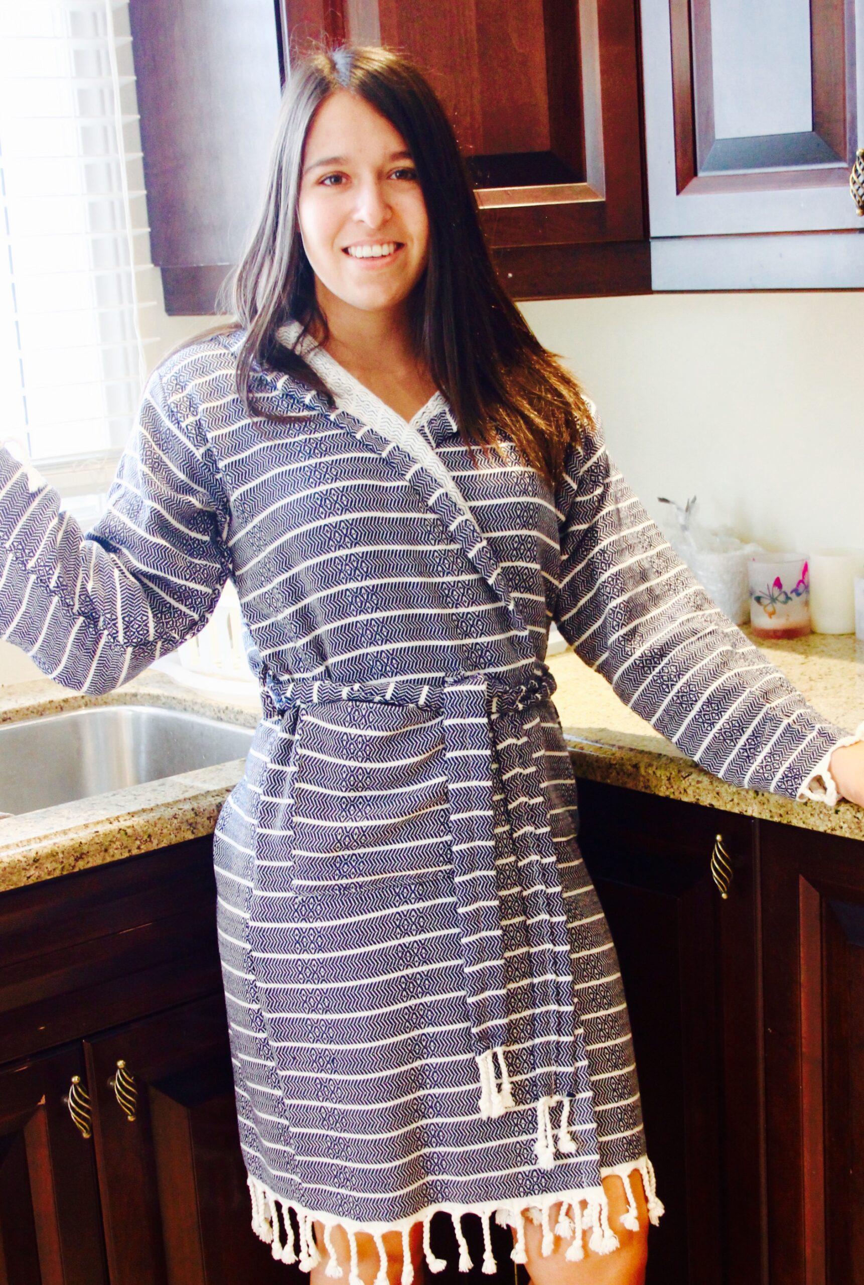 yumu adult bathrobe